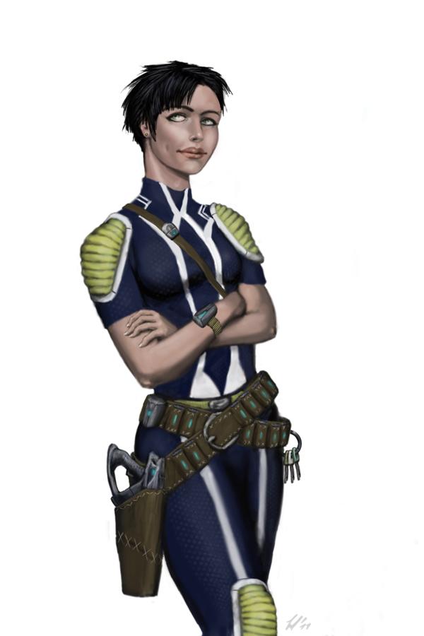 Ensign Corina Townsend