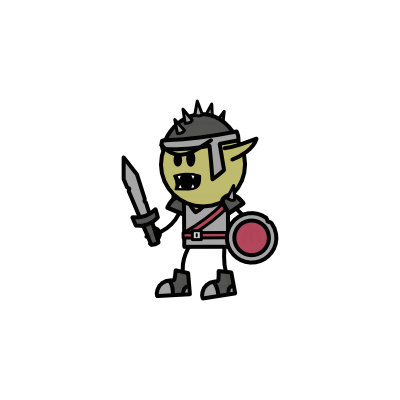 Monster- Goblin War Chief (04)