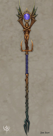 Staff of Vampiric Might