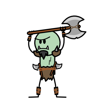 Monster- Orc Raider (03)