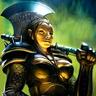 (Monster) Female 'Half-Ogre' Assassin