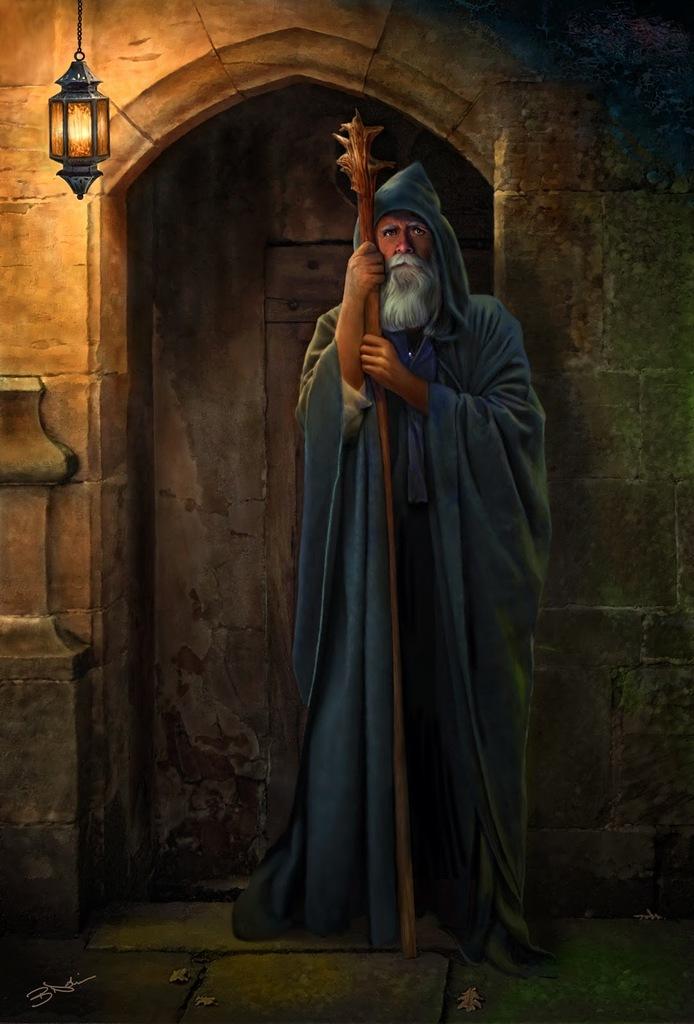 Daleborn the Wanderer (Human Swordmage)
