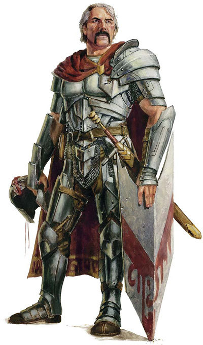 Lord Arik Silverheart (Human Fighter)