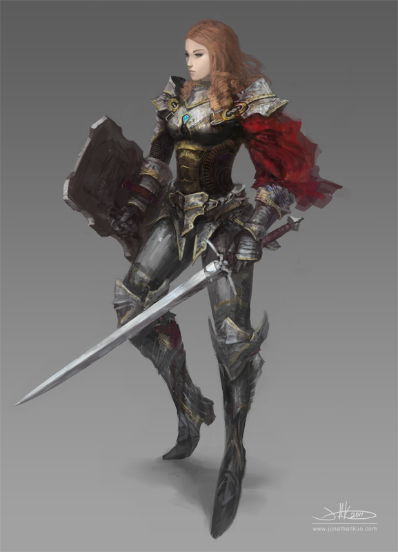 Lady Knight Zara Sernet