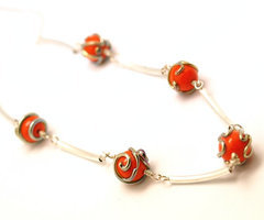 Necklace of Fireballs, 5 spheres