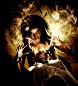 Vondra the Voodoo Priestess
