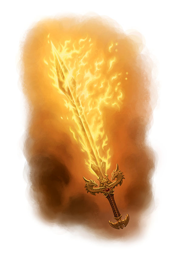 +1 Sword: Flametongue | D&D 5th: Demon Tower of Madness