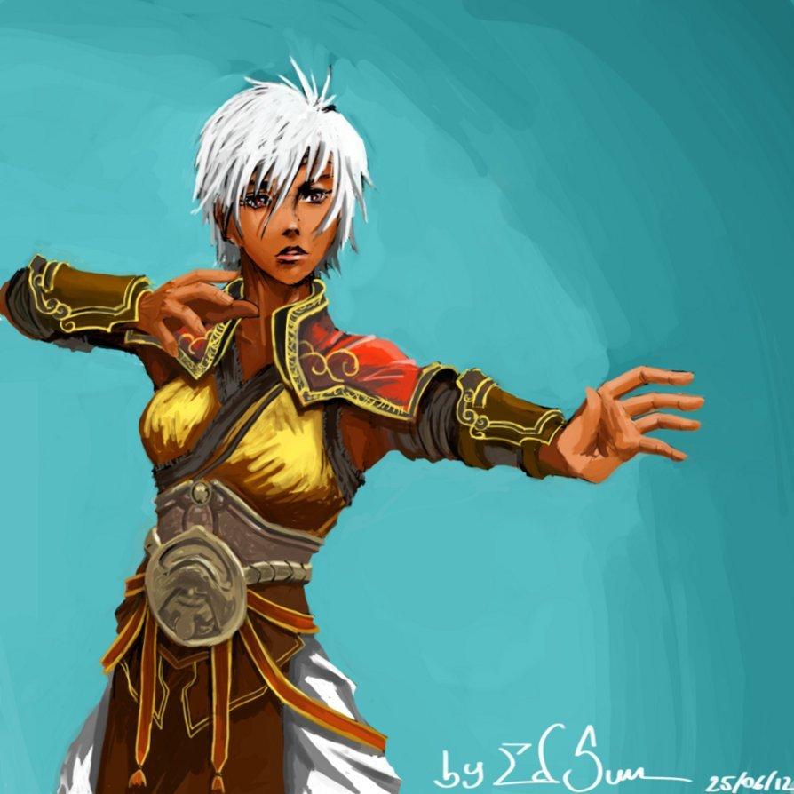 Karina the Bold Strider
