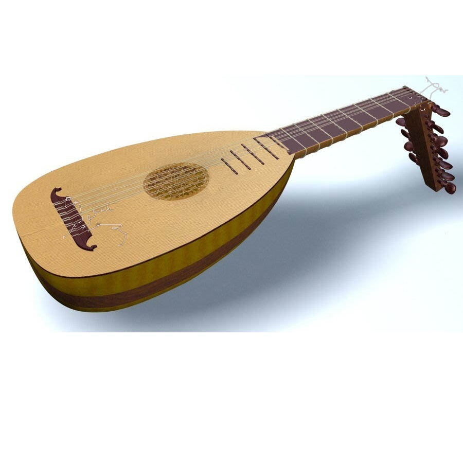 Dave Dunker's Lute