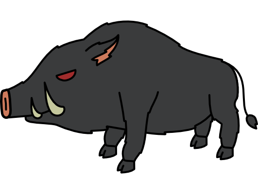 Monster- Boar Dire- Mr. Grumpy (06)