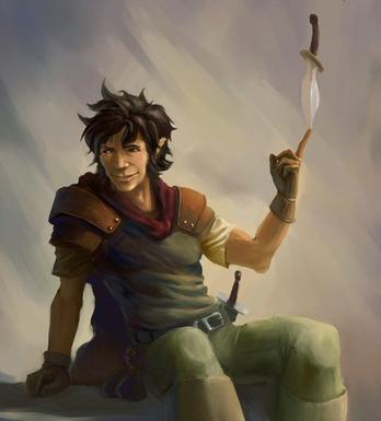 Winston of Enclave (Half-folk Scout)