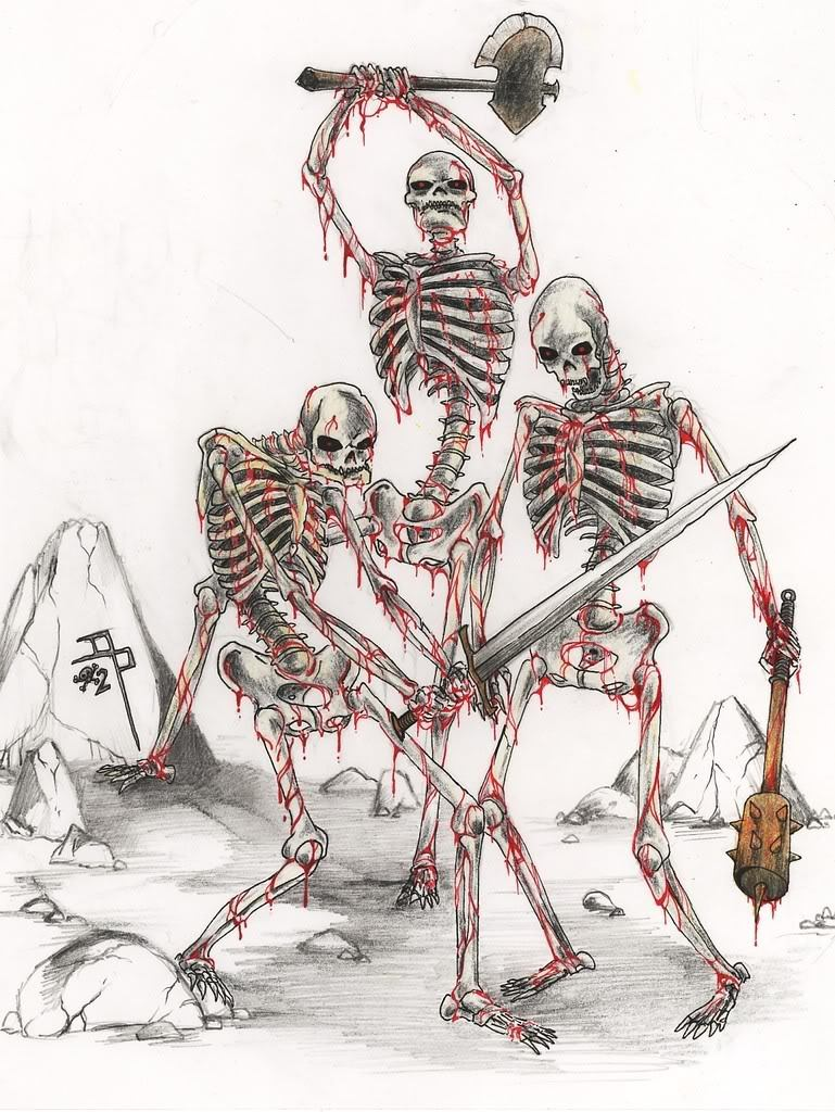 Mess of Skeletons