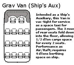 Grav Van (Space Taxi) TL-11