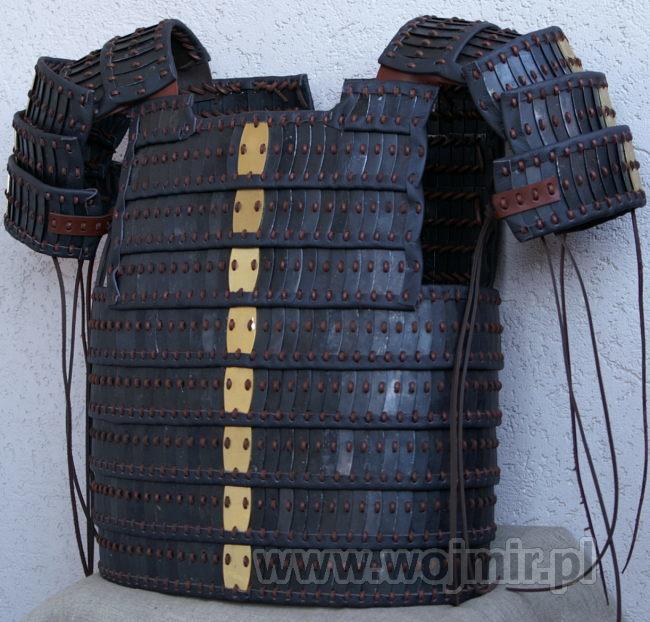 Lammelar-Schwarzblattrüstung