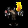 Monster- Gnoll Warlock- Maldrick Scarmaker (08)