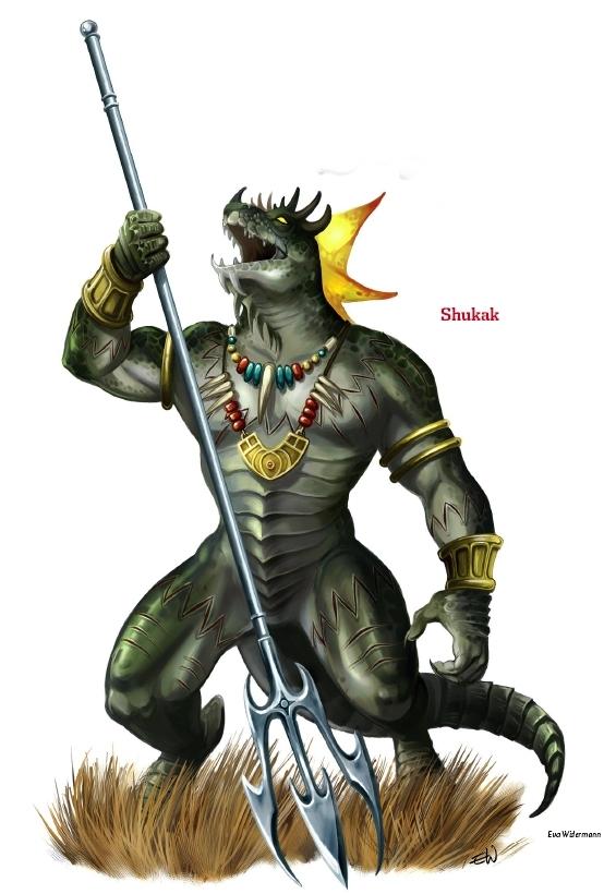 Shukak, the Lizard King
