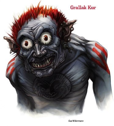 Grallak Kur (a.k.a. The Gnawing Evil)