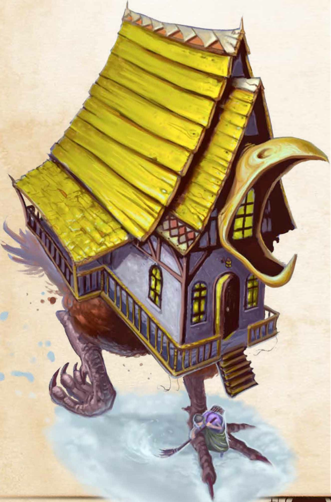The Dancing Hut of Baba Yaga