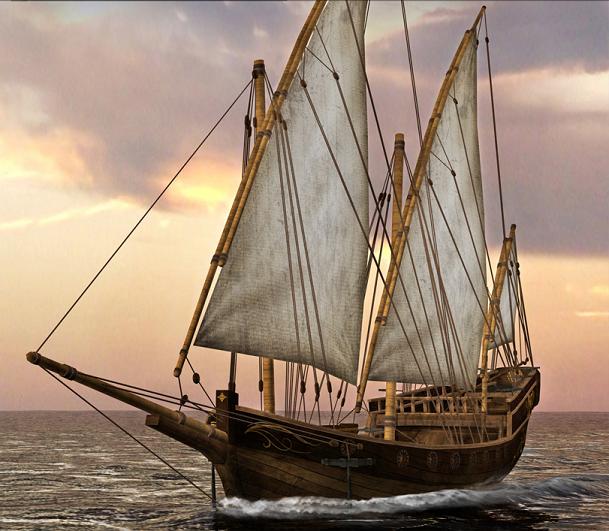 Barque-Class/Caravel-Class Ship