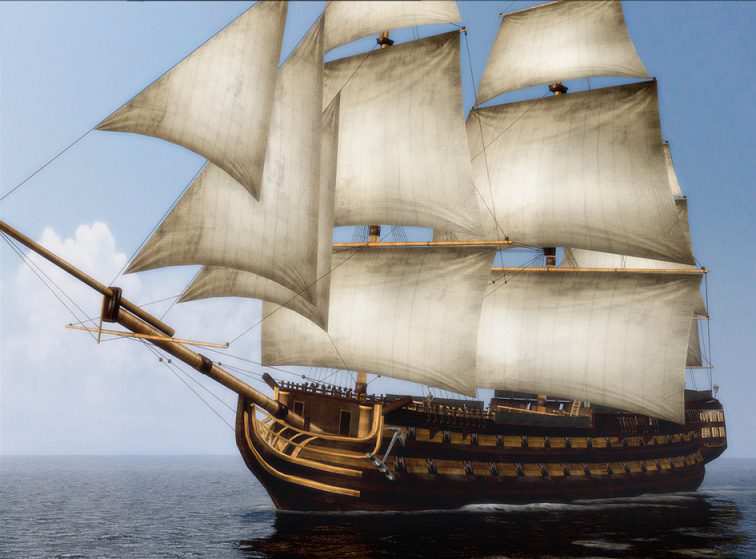 Galleon-Class Ship