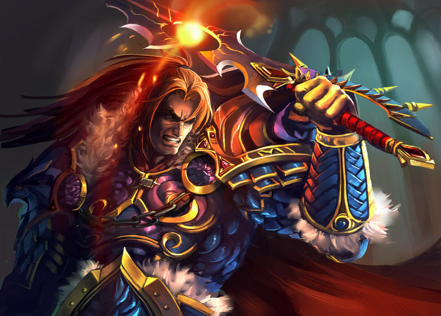 Ser Varian Stormwind, the Thunderer