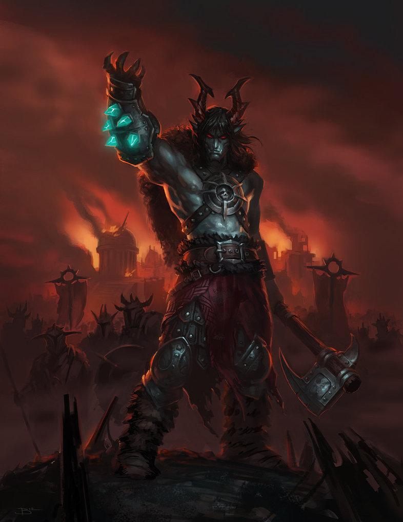Bardu Redaxe the Warlord