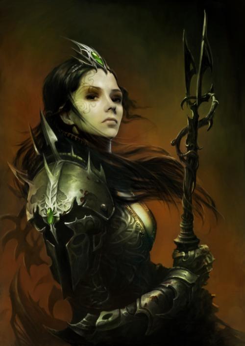 Ulica, Headmistress of the Crucible of Mesos
