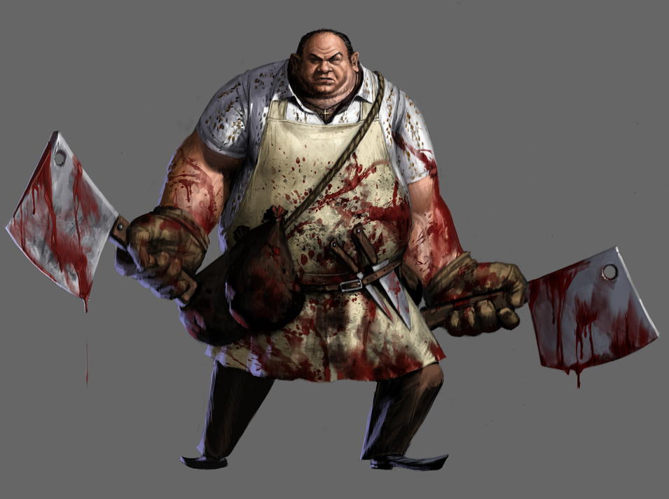 Kraid the butcher