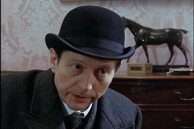 Inspector Giles Lestrade