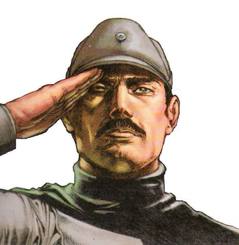 Lt. Bernard Crix