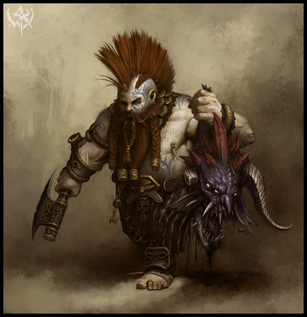 Devo Puresilver, Mountain Dwarf Vengeance Paladin