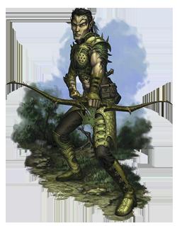 Eckard Joybringer, Wood Elf Bow-War Priest