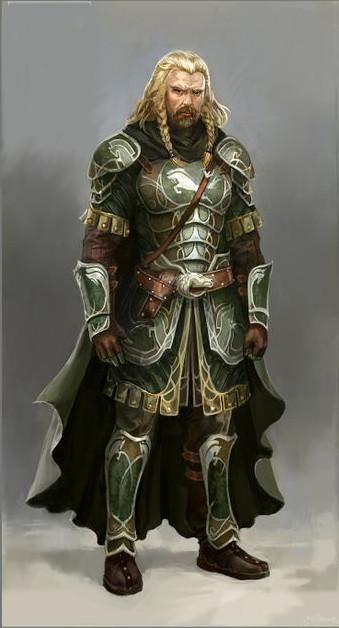 Fengel, Heir Apparent of Rohan