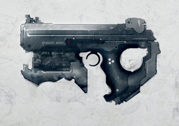 Legacy Courier - Electro-Plasma Pistol