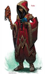 Fireburst Sleeveless Robe +1