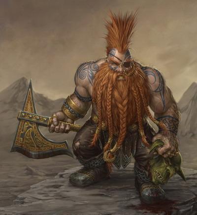 Grimbull Klinkenbeard (Mike)