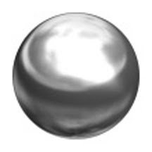 Silver Metal Sphere