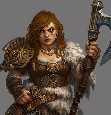 Gloinbeara, Daughter of Gimli
