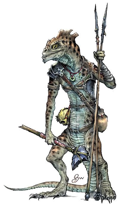 (Monster) Troglodyte