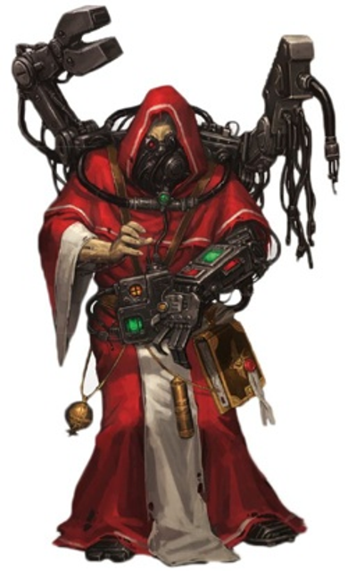 Tech-Priest Atticus Casare