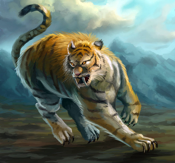 (Monster) Dire Tiger