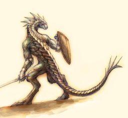 """""""Phill"""" the Lizard Man"""