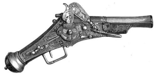Pistol, Wheellock