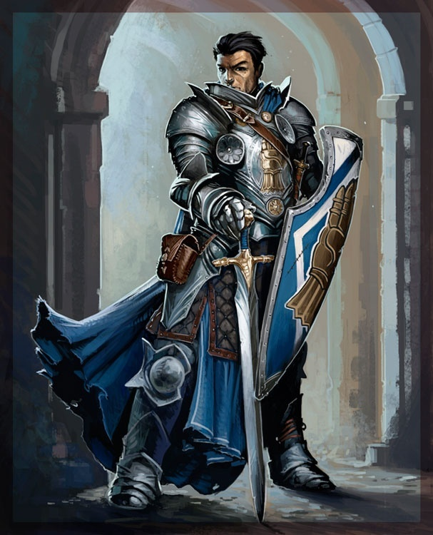 Sir Tristan Eltorchul, Chevalier and Chosen of Torm