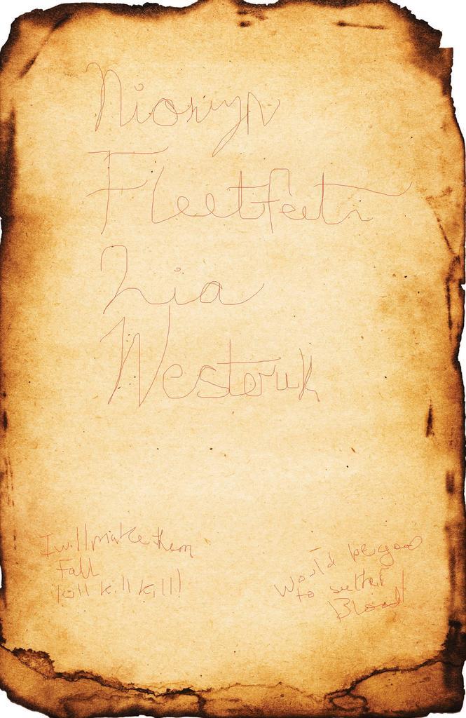 Redcap Assassin's Note