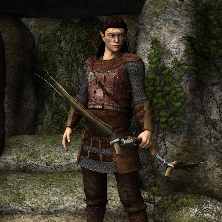 Zarren the Dalish Hunter