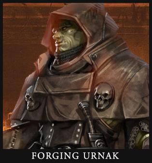 Forging Urnak