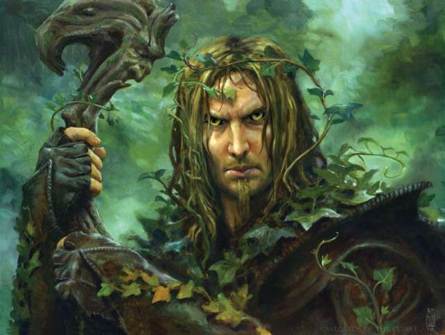 Mysterious Druid