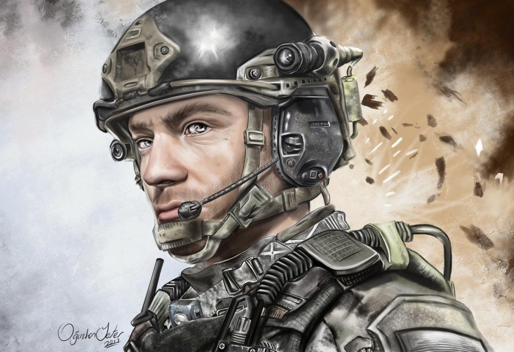 """S.P.E.A.R. Colonel Mike """"Cash"""" Johnson"""