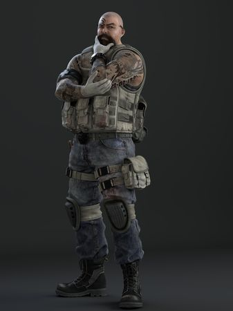 "S.P.E.A.R. Specialist/Medic Warren ""Band-aid"" Holland"
